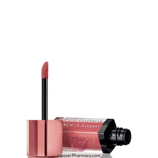 Bourjois Rouge Edition Aqua Laque Liquid Lipstick -t02roseontherocks