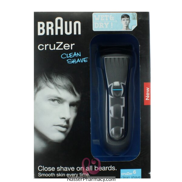 Braun Rechargeable Shaver Wet&dry-cruzer6 Shaver Wd