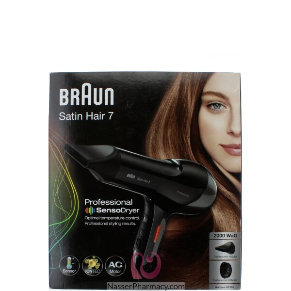 Braun Satin Hair 7 Sensodryer Iontec Hd-785