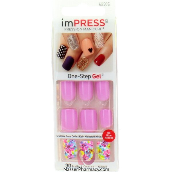 Broadway Impress Press- On Manicure  Accent Nails Harlem Shake