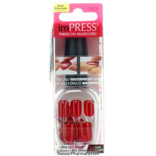 Broadway Impress Press- On Manicure  Tweetheart