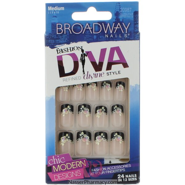 Broadway Nail Kit - Different Designs