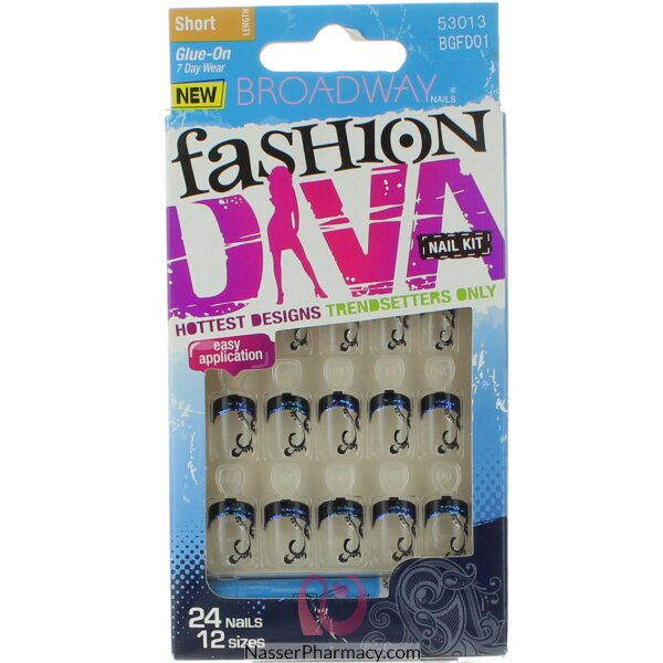 Broadway Nail Kit Fashion Diva-