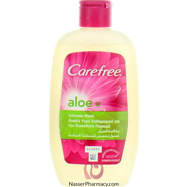 Carefree Intimo Wash (aloe) 200ml