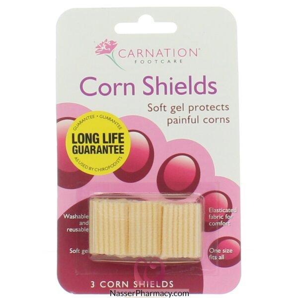Carnation  واقي مسمار القدم - 3 قطع