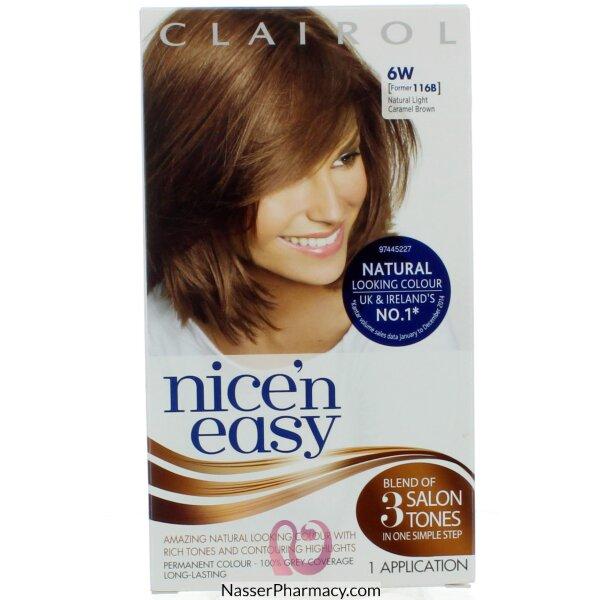 كليرول   Clairol Nice&#39n Easy   صبغة  بنى كراميل خفيف
