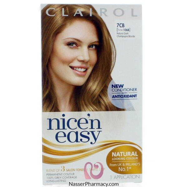 كليرول   Clairol Nice&#39n Easy   صبغة  للشعر أشقر شامبانى غامق