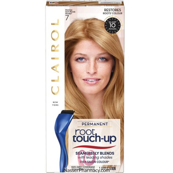 كليرول (  Clairol  Root Touch Up ) صبغة للشعر أشقر غامق