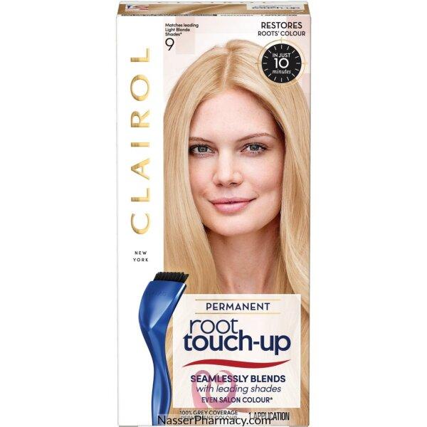 كليرول  Clairol  Root Touch Up صبغة للشعر أشقر فاتح 9