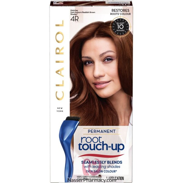كليرول (  Clairol  Root Touch Up ) صبغة للشعر لون بنى محمر