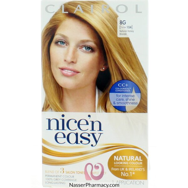 Clairol Nice'n Easy  8g Natural Honey Blonde