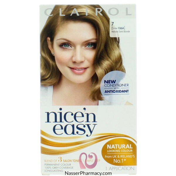 Clairol Nice'n Easy -natural Dark Blonde