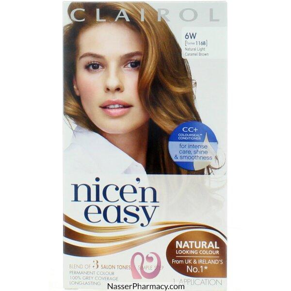 Clairol Nice'n Easy -natural Dark Brown 4