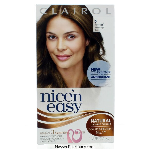 Clairol Nice'n Easy - Natural   Light Neutral Brown