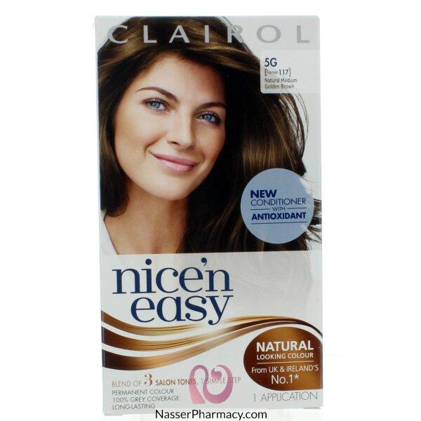 Clairol Nice'n Easy -natural Medium Golden Brown