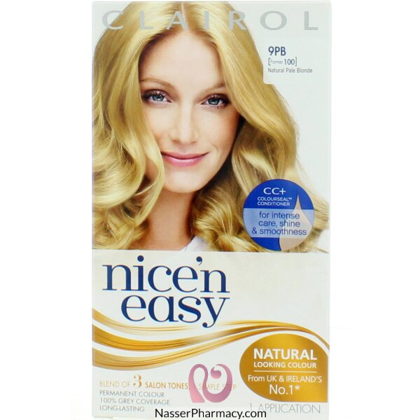 Clairol Nice'n Easy - Natural Natural Pale Blonde