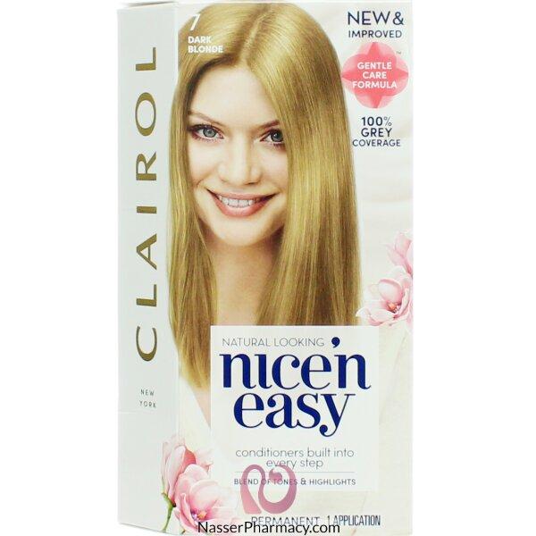 Clairol Nice'n Easy 7 Dark Blonde