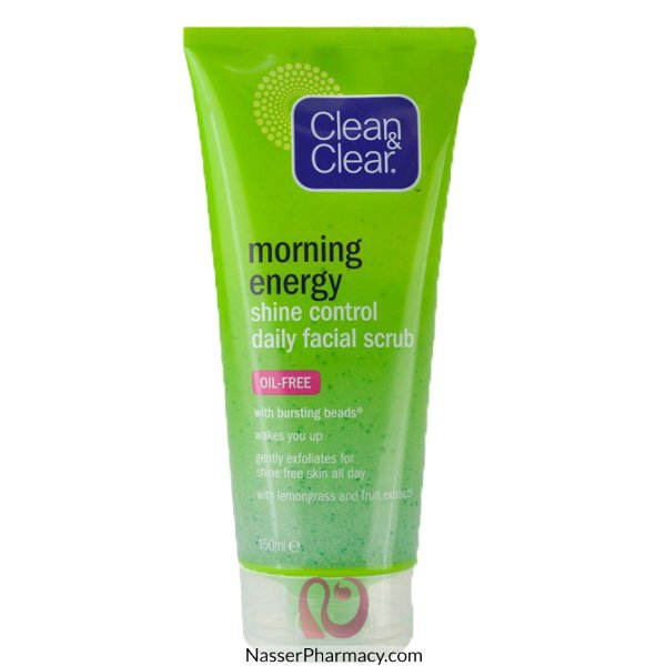 Jj C&c Shine Ctrl Daily Facial Scrub 150ml****