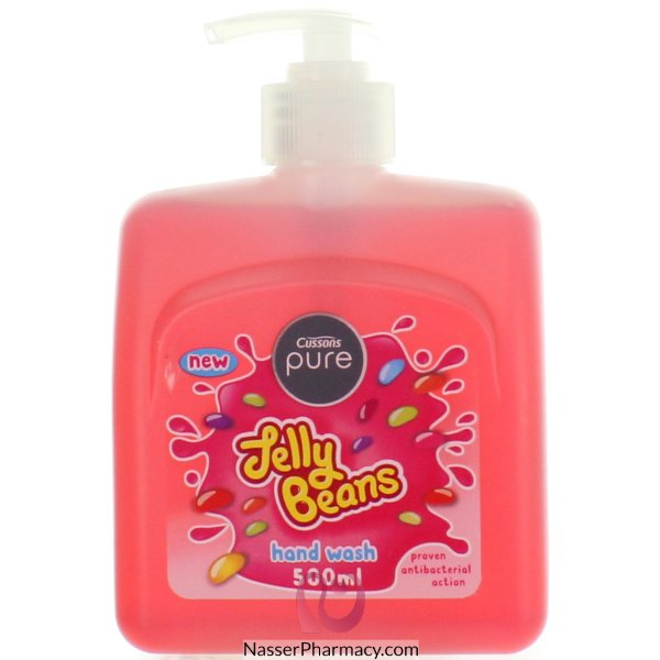 Cussons Pure H/wash Jelly Bean 500ml-56862