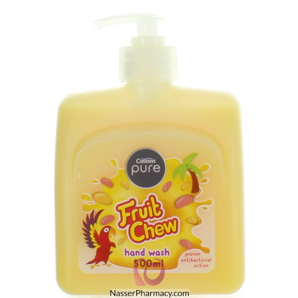 Cussons Pure H/wash Tropi Fruit Salad 500ml-56861