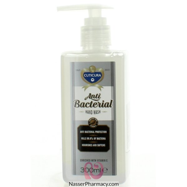 Cuticura Anti Bacterial Hand Wash 300ml