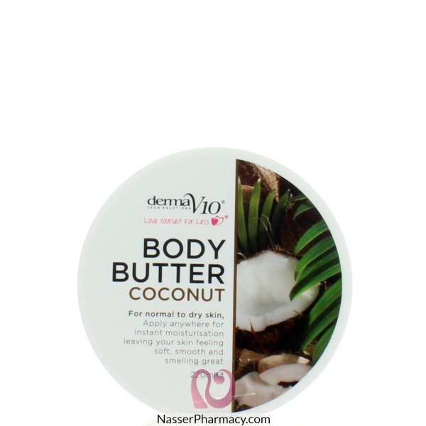 Derma Body Butter(e)coconut 220ml-28872
