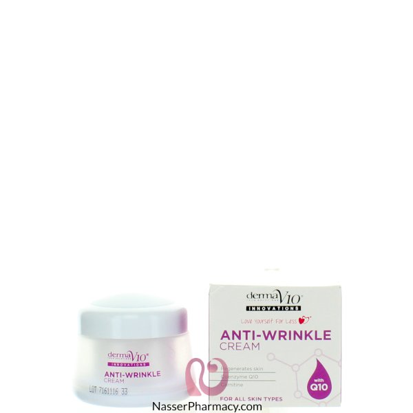 Derma Q10 Innovations Anti Wrinkle Cream 50ml-40149