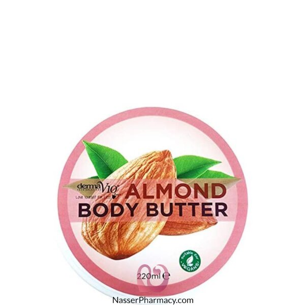 Derma V10 Body Butter Almond 220ml