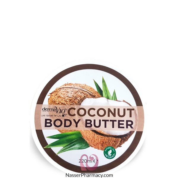 Derma V10 Body Butter Coconut 220ml