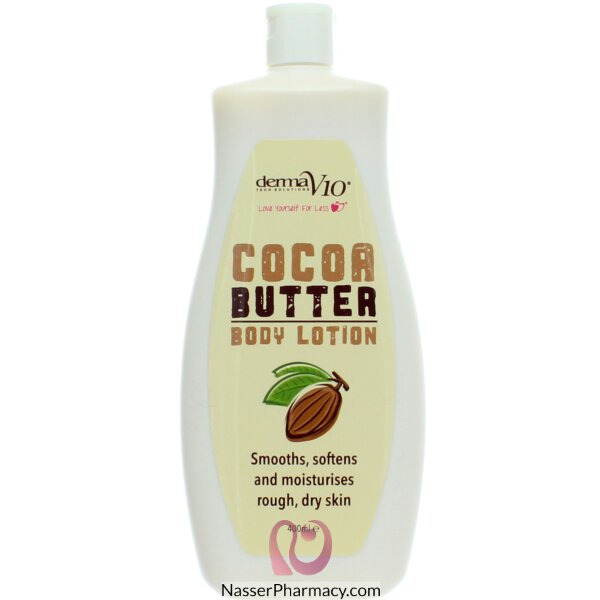 Derma V10 Cocoa Butter Body Lotion 400ml -64977