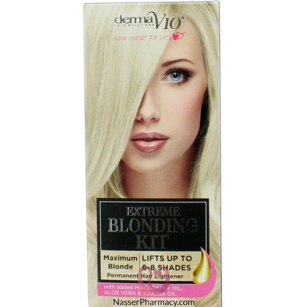 Derma V10 Extr Blonding Kit Maxi-63804