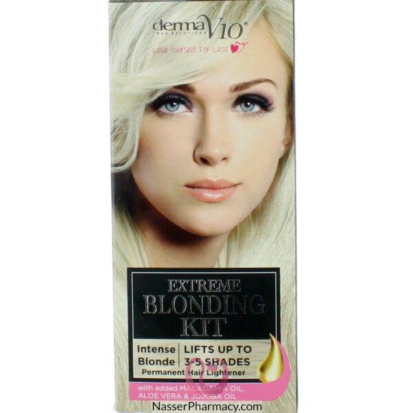 Derma V10 Extreme Blonding Kit Intense Blonde