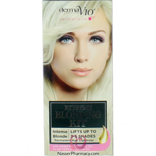 Derma V10 Extreme Blonding Kit Ultimate Blonde