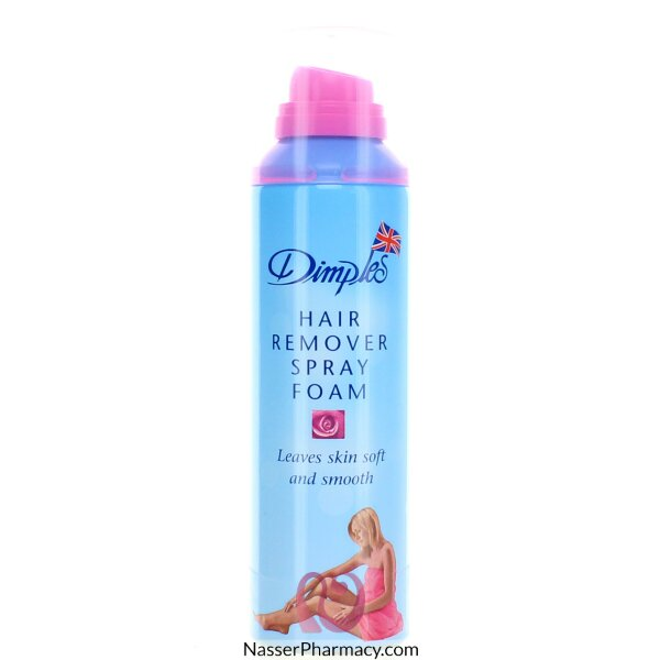 Dimples Hair Removing  Spray Foam Rose 200 Ml