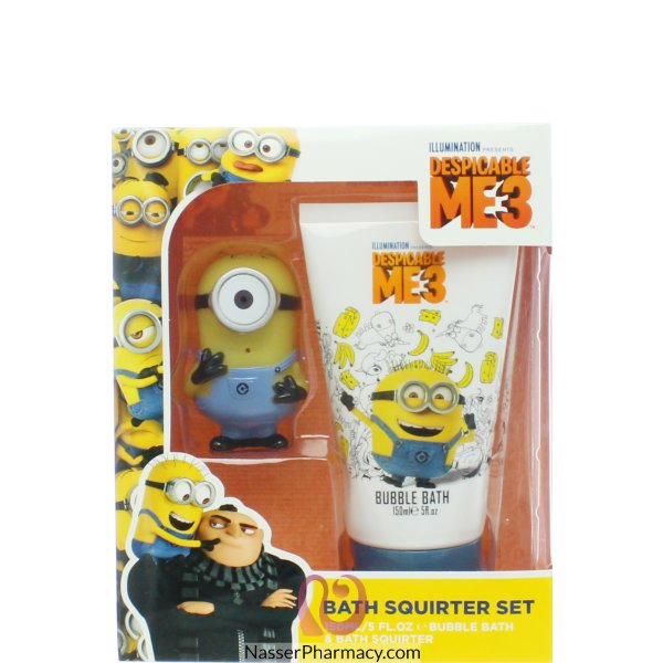 Minions Bubble Bath&fun Bath Squirter 150ml-65521