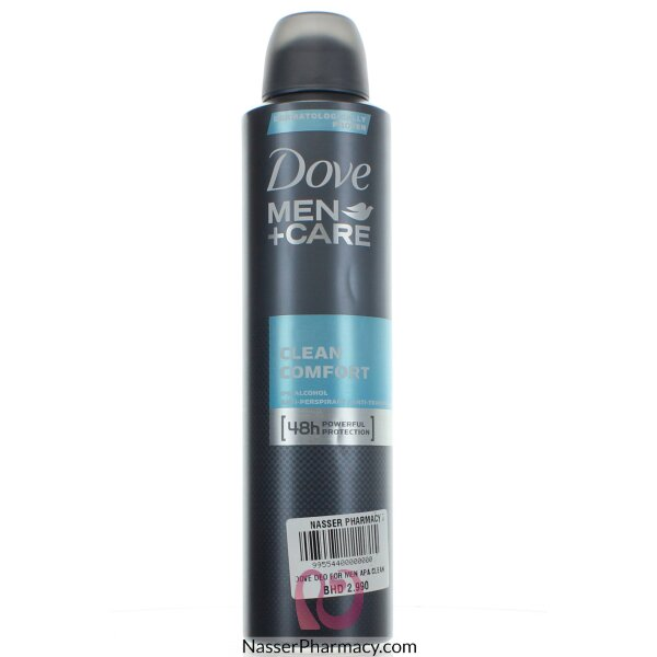 4ec455118 تسوق أونلاين دوف مزيل رائحة العرق للرجال كلين كومفورت - 25 مل من ...