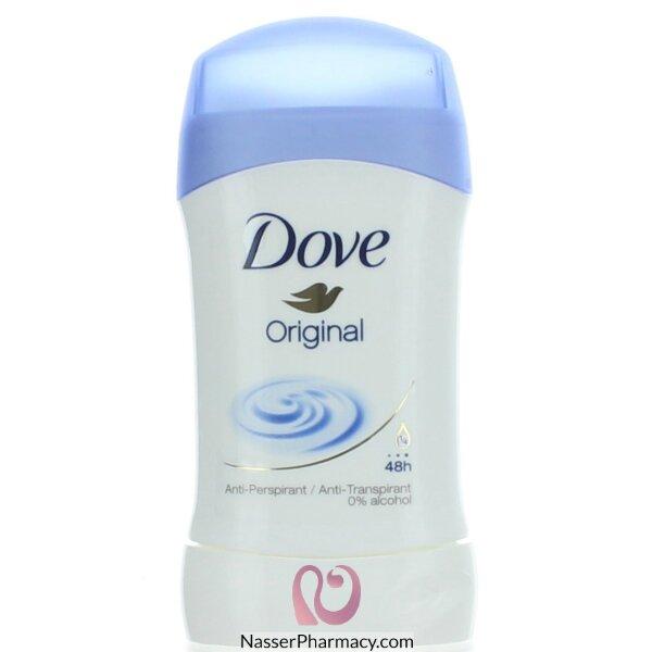 e1c2c8251 تسوق أونلاين دوف Dove مزيل رائحة العرق ستيك أوريجينال - 40 مل من ...