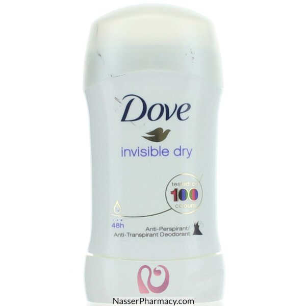 دوف Dove  مزيل لرائحة العرق ستيك غير مرئي - 40 مل