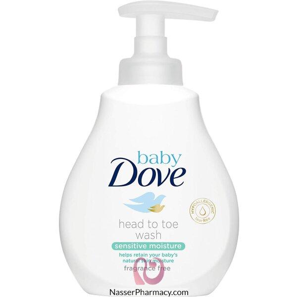 Dove Baby Sensitive Moisture Head To Toe Wash 200ml