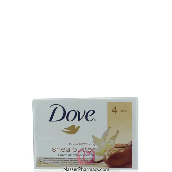 Dove Bar Shea Butter 4 * 100 Gm