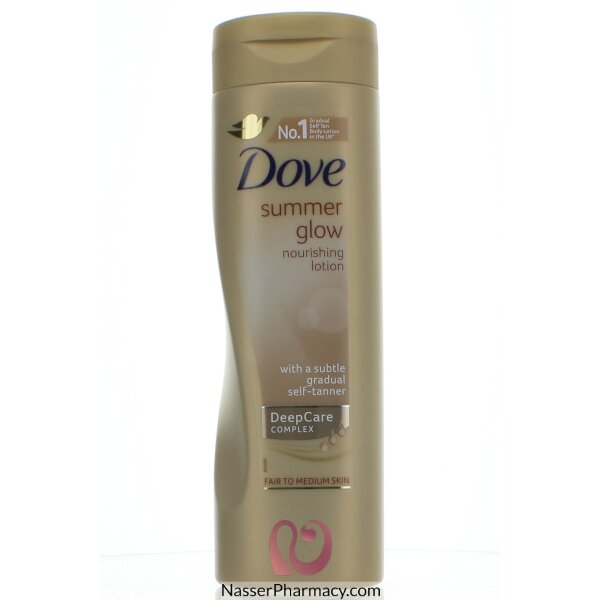 Dove Body Lotion Summer Glow Self Tanning - 250ml