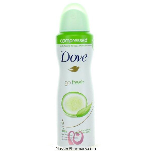 Dove Compressed Antiperspirant Cucumber 125ml