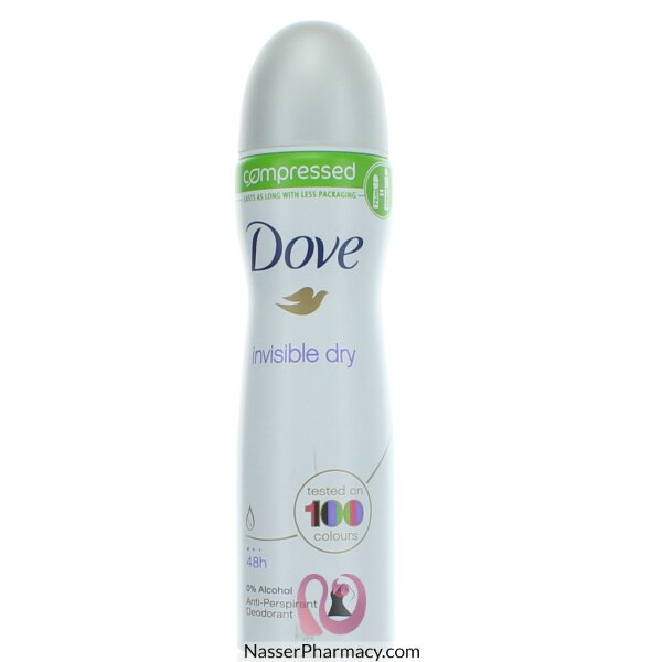 Dove Compressed Invisible Dry Antiperspirant Deodorant - 75 Ml