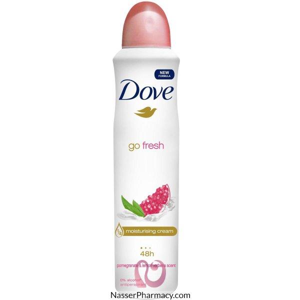 Dove Deodorant Apa Nat Touch Pomegranate 150ml--45114