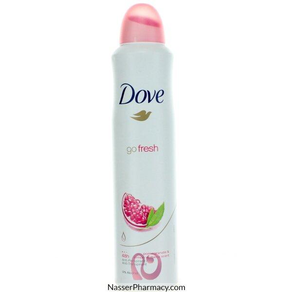 Dove Deodorant Go Fresh Pomegranate 250ml