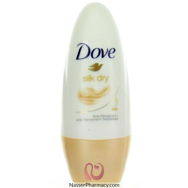 Dove Deodorant Roll On Silk Dry - 50ml