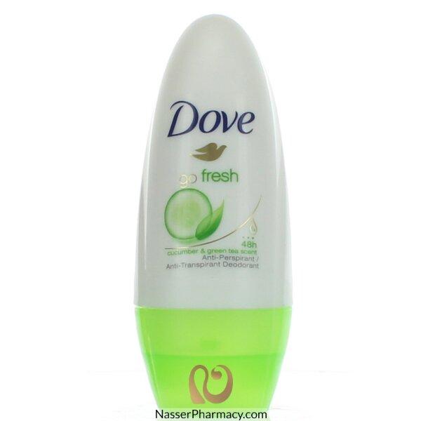 Dove Deodrant Roll On Go Fresh Cucumber And Green Tea - 50ml