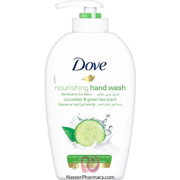 Dove H/wash Cucumber&greentea 12x500ml*sso