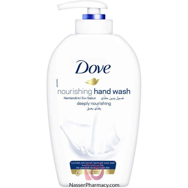 Dove H/wash Deeply Nourishing 12x500ml*sso