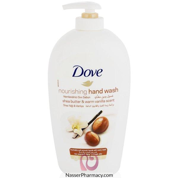 Dove H/wash Shea Butter Vanil 12x500ml*sso